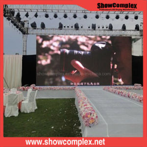 P4.81 Outdoor Stage Rental LED Display Screen pictures & photos
