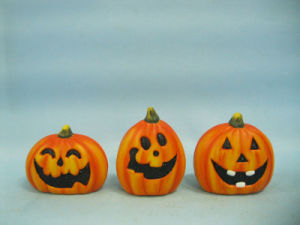 Halloween Pumpkin Ceramic Arts and Crafts (LOE2375-7) pictures & photos