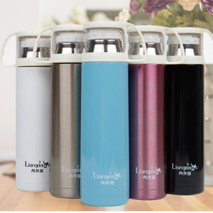 500ml Double Stainless Steel Thermos with Drinking Lid (DC-HL4-500) pictures & photos