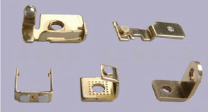 Customized Professional Brass Stamping Part (ATC451) pictures & photos