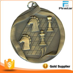 Making Customized Stainless Metal Chess Medal 3D pictures & photos