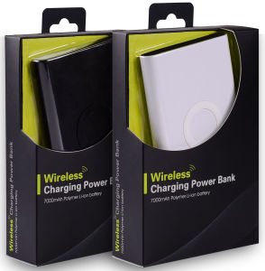 Wireless Charger & Power Bank, 2-in-1, Safety Charging. pictures & photos
