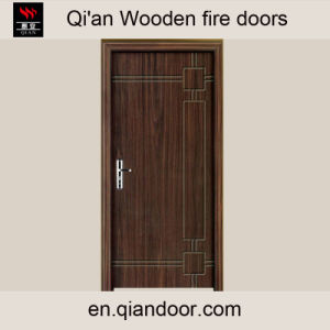 Ovenkol Veneer Fir Wood Door pictures & photos