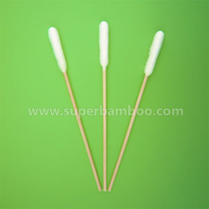 6′ Bamboo Stick Cotton Swab for Medical Use (B301508L)