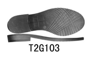 Flat Heel Shoe Sole for Lady′s Shoes Boots Sole TPR Sole (T2G103) pictures & photos