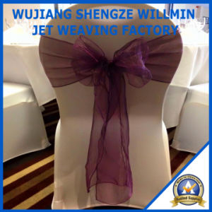 Organza Chair Sashes Bows for Wedding Party Banquet pictures & photos