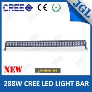 4D Double CREE LED Light Bar 288W Auto UTV