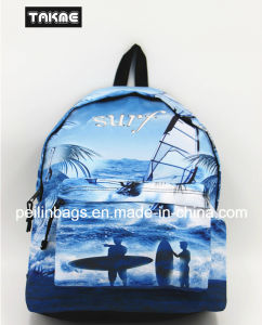 Fashion Sports Printing Bag Backpack for School Sport Travel Hiking pictures & photos
