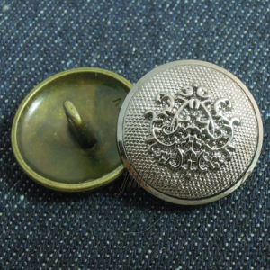 Plating Fashion Style Shank Sew Metal Button pictures & photos