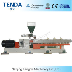 Tsh-75 Masterbatch Parallel Twin Screw Plastic Product Extruder pictures & photos