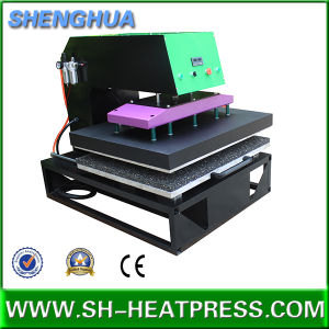 Newly Design Single Station Pneumatic T-Shirt Heat Press pictures & photos