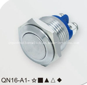 16mm Screw Pin Momentary Push Button Switch pictures & photos