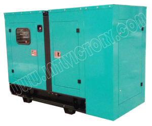 12kw/16kVA Silent Type Quanchai Diesel Engine Generator Set pictures & photos