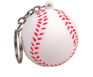 Promotional Gift Printed Logo Baseball Keychain pictures & photos