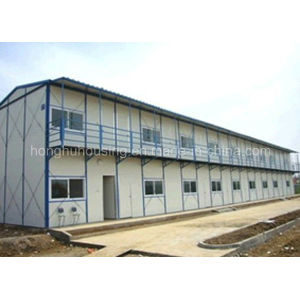 One Story Simple and Economical Prefabricated House K House pictures & photos