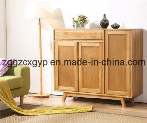 Modern Home Living Room Furniture Wooden Shoes Cabinet Cx-Sc09 pictures & photos