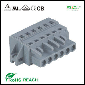 Supu Mcs Female Terminal Blocks Connector with Fixing Flanges pictures & photos