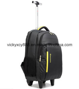 Trolley Laptop Wheeled Bag Travel Pack Business Computer Backpack (CY6892) pictures & photos