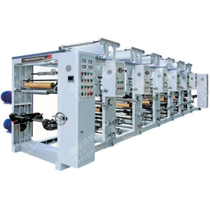 New 1-8 Color Rotographic Printing Machine pictures & photos
