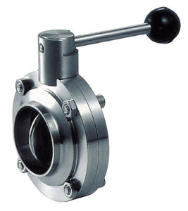 Threaded Butterfly Valve for Food Industry pictures & photos
