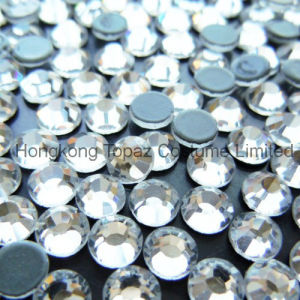 Hot Sale Clear Diamond Hotfix Crystal Rhinestones Top Quality (SS12 Clear/4A Grade) pictures & photos