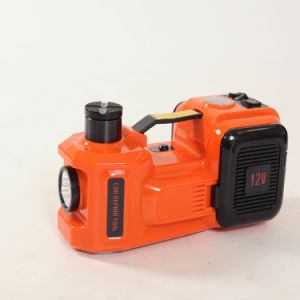 Two Functions Electric Floor Hydraulic Jack with Air Compressor pictures & photos