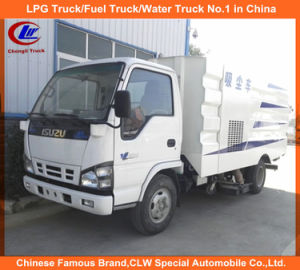 Truck Mounted Road Sweeper in Isuzu Street Sweeper for Sale pictures & photos