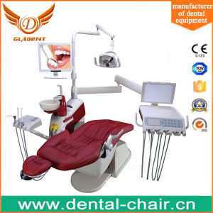 Best Selling Intelligent Dental Chair with European Type LED Lamp pictures & photos