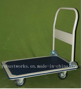 Heavy Duty Platform Hand Trolley (HT044) pictures & photos