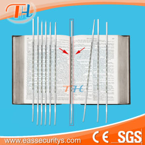 6.5′′ Double Side Deactivable Em Book Strip pictures & photos