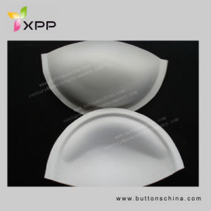 White Color Cotton Soft Bra Cups pictures & photos