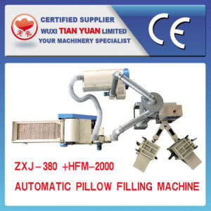 Opended Fiber Stuffing Pillow Cushion Making Machine pictures & photos