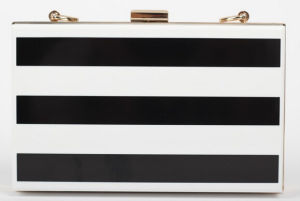 Acrylic Evening Bag Classic Stitching Clutch Bag (XW710) pictures & photos