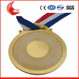 Wholesale Fashion Metal Custom Round Medal with Ribbon pictures & photos