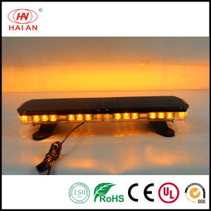 Amber Strobe LED Police Bar Light Outdoor Waterproof Warning Light Bar for Security Trucks Mini Lightbar pictures & photos