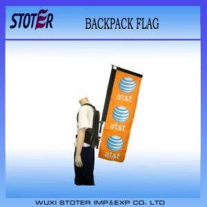 Custom Walking Rectangle Backpack Flag