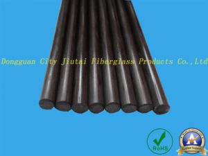 High Strength Carbon Fiber Pultrusion Solid Round Rods pictures & photos