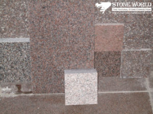 Polishe/ Flamed / Honed Red Granite Tile for Flooring pictures & photos