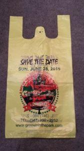 Supermarket Printed T-Shirt Bag pictures & photos