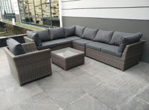 Outdoor Rattan Furniture Modern Garden Patio Leisure Hotel Wicker Sofa