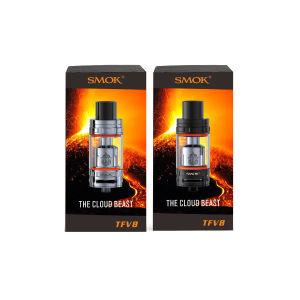 100% Original Smok Tfv8 6.0 Ml Tank /Black/Silver Tfv8 pictures & photos
