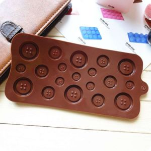 Silicone Button Chocolate Jelly Muffin Sugar Craft Fondant Mold pictures & photos