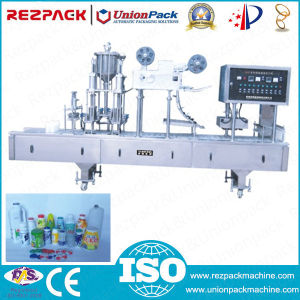 Automatic Rotary Sunflower Oil Filling Packing Machine (RZ6/8-200/300A) pictures & photos