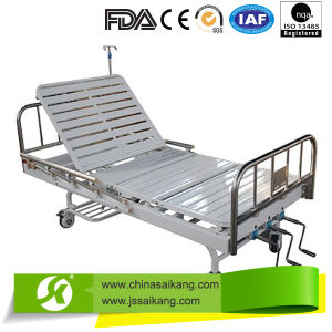 Stainless Steel Multi-Functional Manual Bed pictures & photos