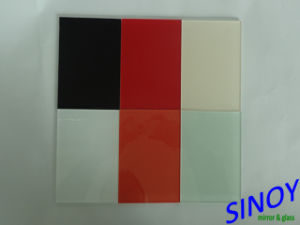 Sinoy Mirror Inc Decorative Float Glass Lacquered Glass / Back Painted Glass/ Colored Glass for Interior Decorations pictures & photos