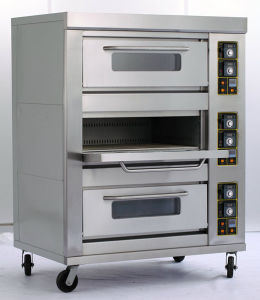 Commercial Three-Layer Nine-Tray Gas Oven pictures & photos