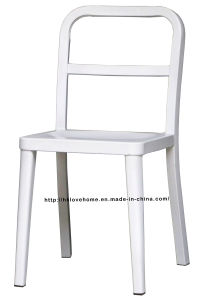 Emeco Metal Dining Restaurant Coffee White Steel Navy Chair pictures & photos