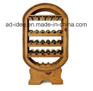 Durable Wooden Display Stand / Display for Wine Advertising pictures & photos