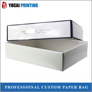 White Cardboard Box Gift Box with Glossy Lamination pictures & photos