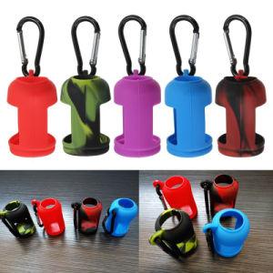 30ml Silicone Hand Sanitizer Perfume Bottle Case Liquid Bottles Holder 30ml Bottle pictures & photos